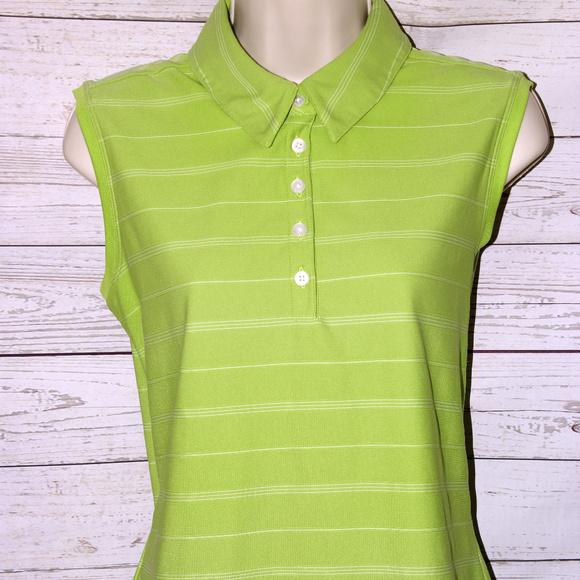 d8d7b0577a9529 Nike Golf Women s Sz Large Dry Fit Tank Top Green.  M 5ae67378331627f6afc7aae5
